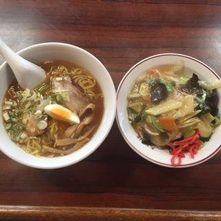 ミニ中華飯、ラーメンセット(天津楼 (てんしんろう))