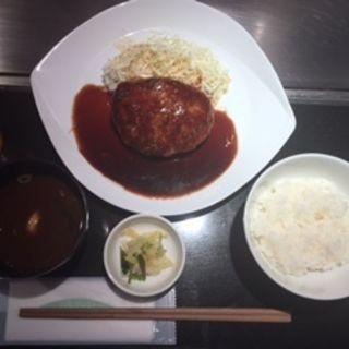 手作りハンバーグオリジナルソース(てっぱん 太河 チカマチラウンジ店 )