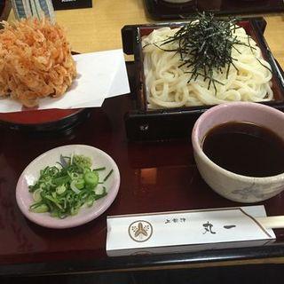 桜海老天ざるうどん(手打麺舗丸一 )