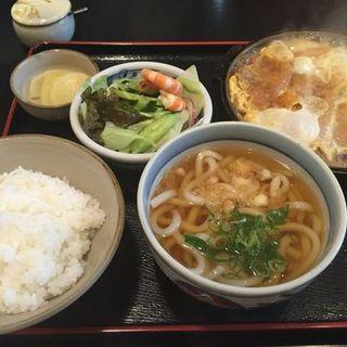 カツ鍋定食(肥前屋 )