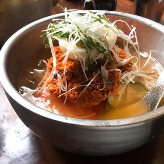 黒酢冷麺(東洋食堂 百 (トウヨウショクドウヒャク))