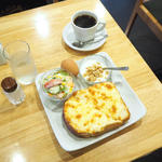 クロックムッシュ(モーニングプレート)(ピーク ロースト コーヒー )