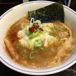 極トロ醤油の鶏白湯ヤマト…芋