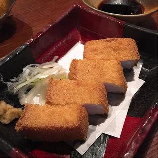 十六豆腐の厚揚(こだわりもん一家 西葛西店 )