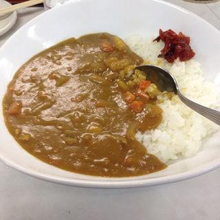 カレーライス(いずみ食堂)