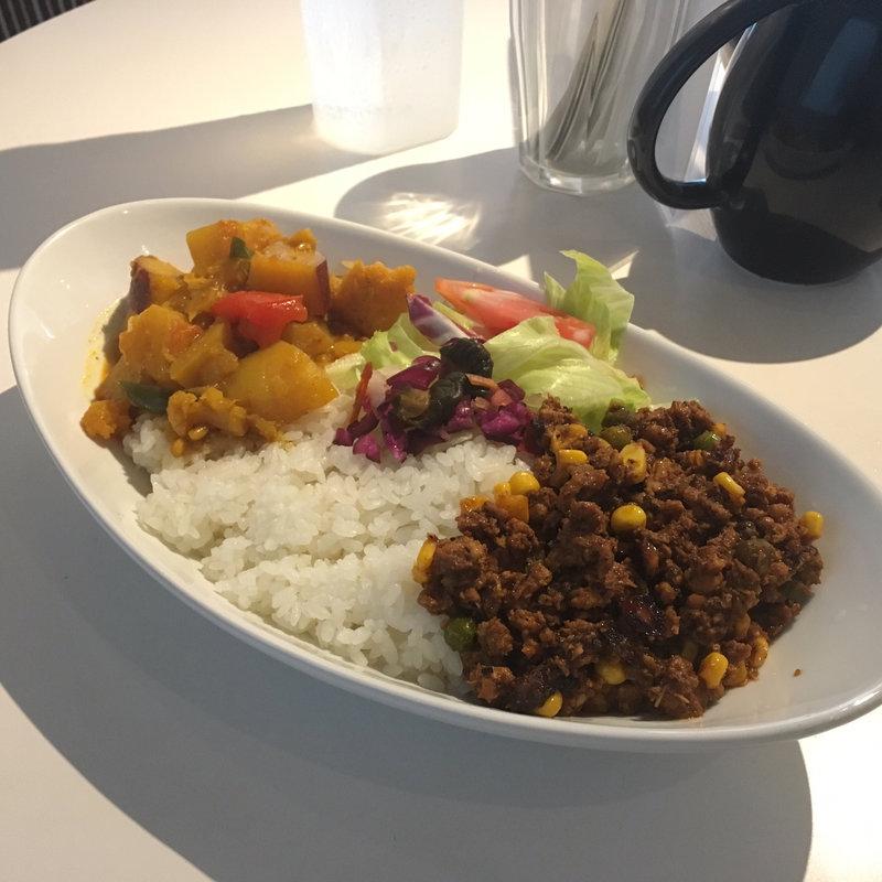 野菜カレーコンビネーション(L)