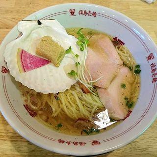 トリュフ薫る帆立塩ラーメン(福島壱麺 (イチメン))