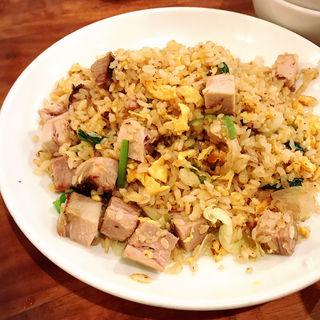 叉焼レタス炒飯(蒼龍唐玉堂 六本木店 (ソウリュウトウギョクドウ))