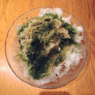 抹茶&黒蜜&きな粉(ぶどう酒食堂さくら )