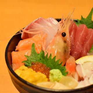 海鮮丼(レストランさすいち )