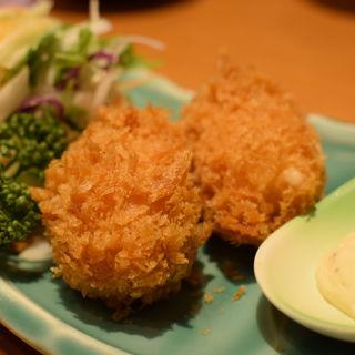 カニクリームコロッケ(レストランさすいち )