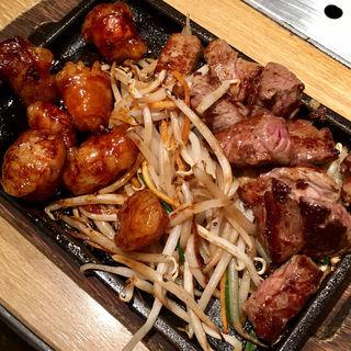 まるちょう & カットステーキ(天神ホルモン ヨドバシ梅田店 )