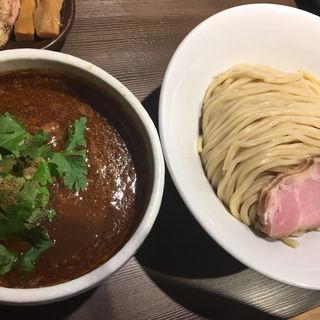 スパイシーつけ麺中盛(つけ麺一燈 (ツケメンイットウ))