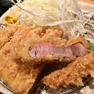 特選ロースカツ定食(のもと家 )