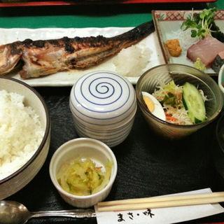 甘鯛の味噌焼き定食(大衆割烹 まさ味)