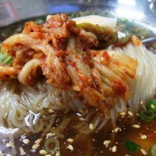 冷麺(我流焼肉 宗左ヱ門)