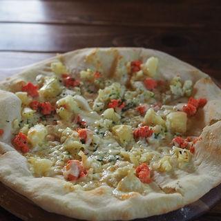 釧路タラコと北海道ポテトのピザ(COVO (コーヴォ))