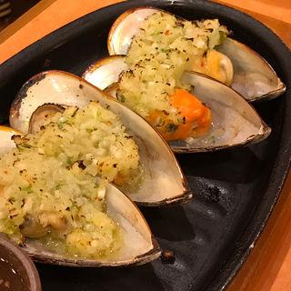 ムール貝のガーリック焼き(サイゼリヤ 大阪日本橋駅前店 )