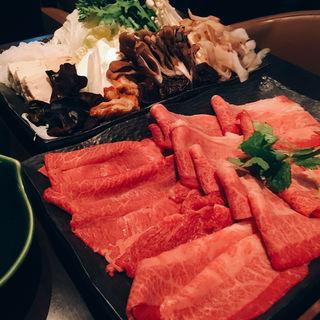 米沢牛極上すき焼き 赤身(米沢牛黄木 東京店 )