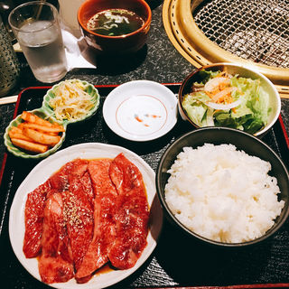 焼肉定食(肉大盛)(晩翠 (バンスイ))