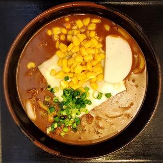 チーズ入り牛カレーうどん(こんぴら茶屋)