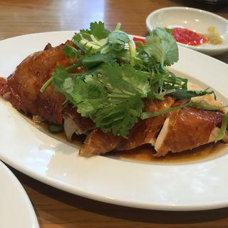 ローストチキンライス(威南記海南鶏飯 日本本店 (Wee Nam Kee Chicken Rice/ウィーナムキーチキンライス))