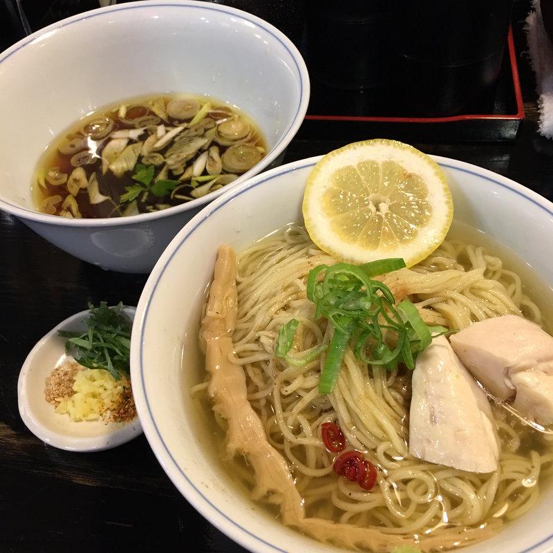 元祖昆布水のつけ麺