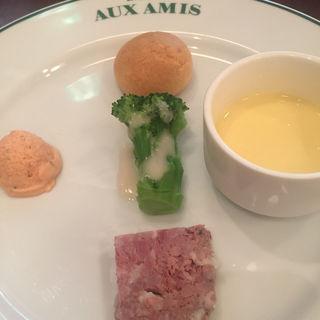 ランチの前菜(ブラッスリー・ヴィロン 丸の内店 (Brasserie VIRON ))