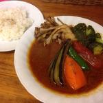 ポーク野菜カレー(スープカレー カムイ )