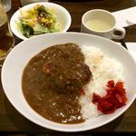 ハンバーグカレー(牛舎 (Gyu-sha))