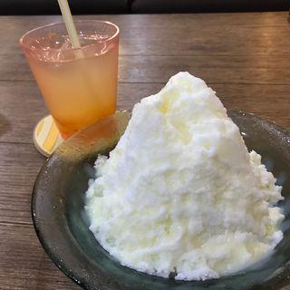 ふわふわ山盛り氷(cafe koume)