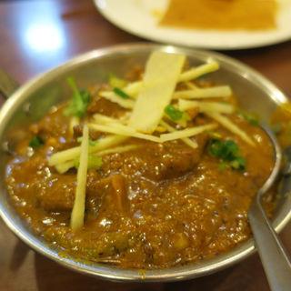 トウガラシ マトン(アーンドラ・キッチン (Andhra Kitchen))