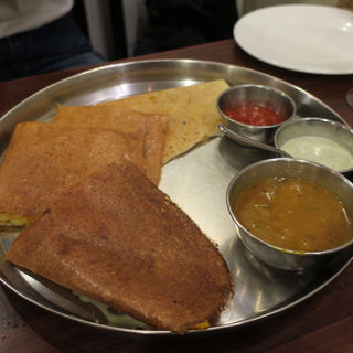 アーンドラスペシャル サンドイッチ ドーサ(アーンドラ・キッチン (Andhra Kitchen))