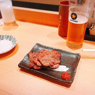 牛タン(炭焼酒場 はざま)