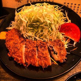 ササミ梅肉入定食(とんかつ 松永 )