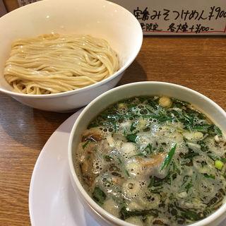 甘辛酸‼︎醤油つけ麺(中華そば桐麺)