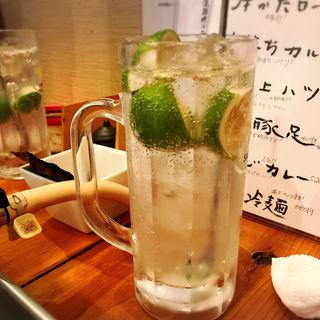 生しぼりサワー(焼肉・ホルモン 恵比寿 英司)
