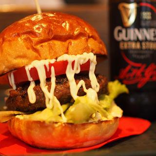 黒毛和牛バーガー(burgers)