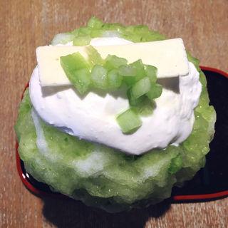 生メロンとレアチーズのクリーム(古美珈琲 (COBI COFFEE))