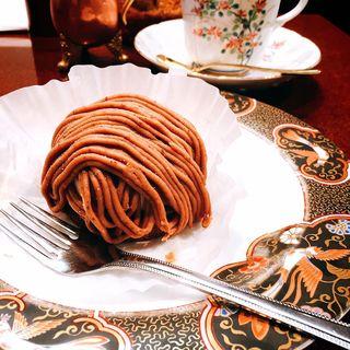 渋皮栗のケーキ(高久 (タカク))