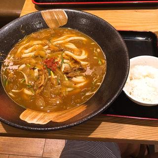 カレーうどん(釜たけうどん 八重洲北口店 )