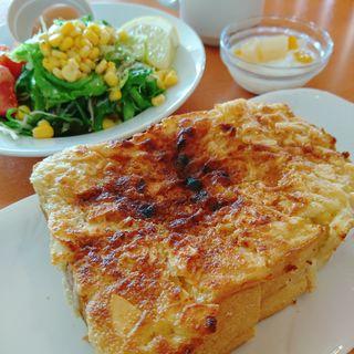 アーモンドトーストモーニング(太陽のカフェ 南港店 )