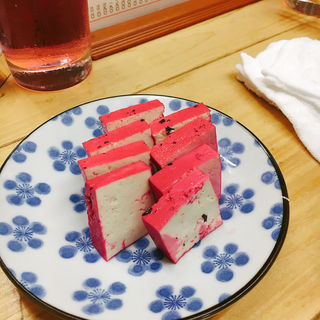酢豆腐(もつ焼 でん 中目黒店)