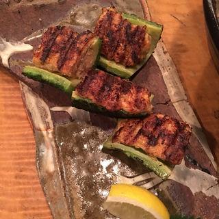 ゴーヤの肉詰め(鶏屋 國型製作所 (とりや くにがたせいさくじょ))
