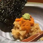 バフン海胆・ムラサキ海胆小丼