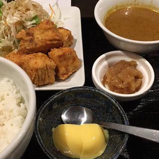 大根のカレーと鮪竜田(風土木 (ふうどき【旧店名:黄金屋】))