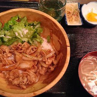 豚バラ焼肉丼(パラダヰス)
