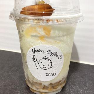 フローズン桃ヨーグルトのかき氷(yotteco coffee)