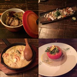 トマトのファルシ (福島金魚 (ふくしまきんぎょ))