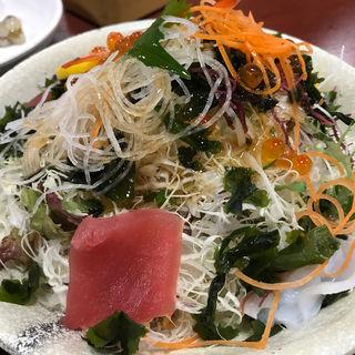 海鮮サラダ(さんぞくや 東福岡店)